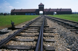 The Nazi concentration camp of Auschwitz